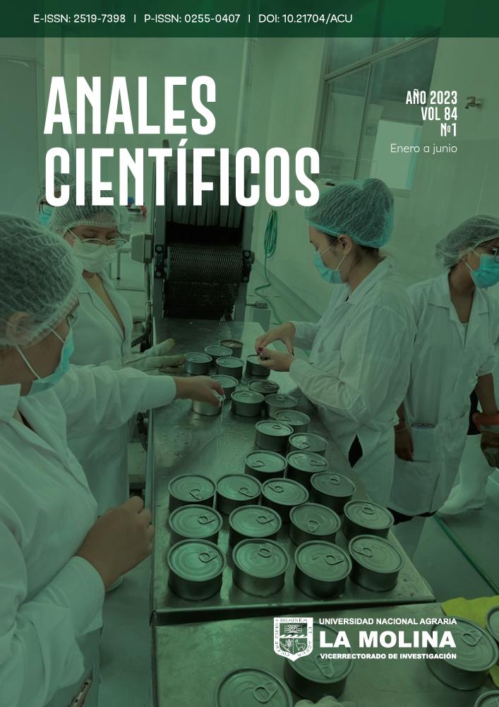 ISSN 2519-7398 (En línea), ISSN 0255-0407 (Impresa)